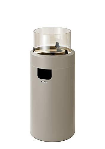 Enders Nova LED Gasfeuerstelle, Taupe/Gold