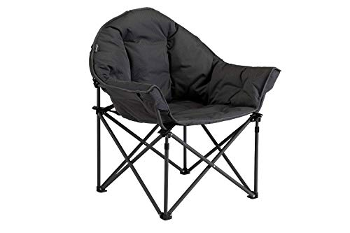 Vango Titan 2 Oversized Foldable Camping Chair Excalibur Grey