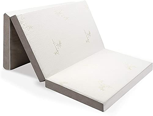 Milliard Visco Gästematratze, Klappmatratze de Luxe 10 cm Dicke Schaumstoff,...