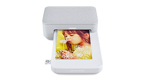 HP Sprocket Studio Fotodrucker (Drucken, scannen, kopieren, Bluetooth, 10 x 15...
