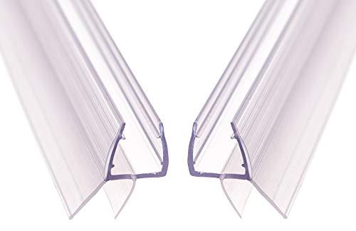 AULETT Premium Qualität Duschdichtung 2x 100 cm für Duschtür und Duschkabinen...