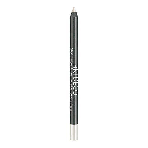 ARTDECO Soft Eyeliner Waterproof, Kajalstift weiss, Nr. 98, vanilla white