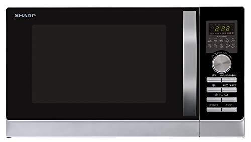 Sharp R843INW 4-in-1 Mikrowelle mit Heißluft, Grill und Konvektion / 25 L / 800...