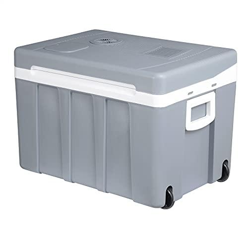 WOLTU KUE003gr Kühlbox, Tragbarer Mini Kühlschrank, 50 Liter Isolierbox zum...