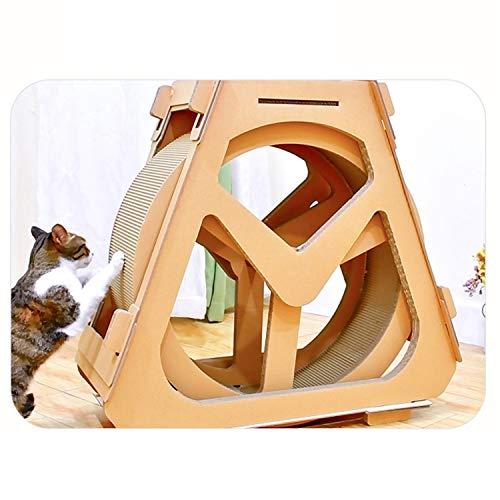Pet Love Katzenmöbel Gewölbtes Laufband Riesenrad Katzenkratzbrett Katze, Die...