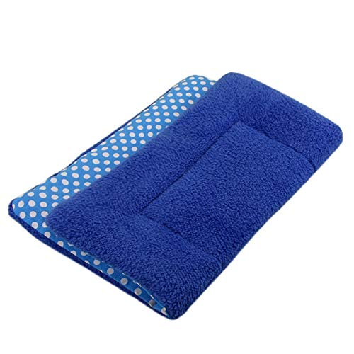 JCCOZ Hundematte Winter-Biss Resistant Pet Mat Cat Kennel Kennel Mat (91 * 70cm)...