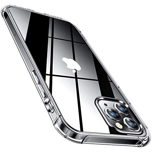 CANSHN Transparent Stoßfest Hülle Kompatibel mit iPhone 12 und 12 Pro 2020,...