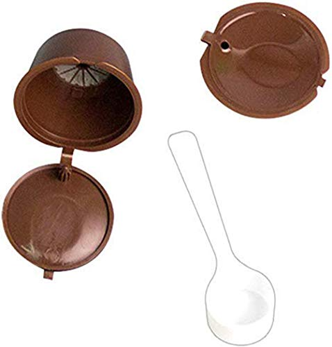 Demarkt Wiederbefüllbare Kaffeekapsel, 2 Stück Wiederverwendbarer Kaffeekapsel...