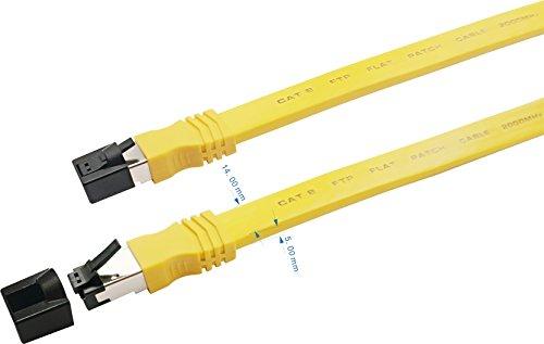 Sigma Wire Cat8 Ethernet High Speed Flat Internet 5 Feet