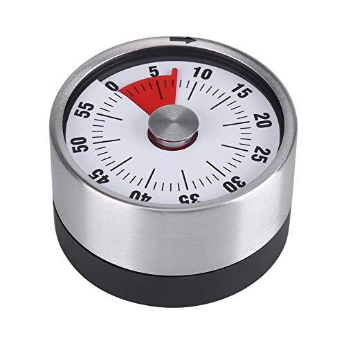 Küchenwecker, Edelstahl Magnetisch Mechanisch 60 Minuten Kühlschrank...