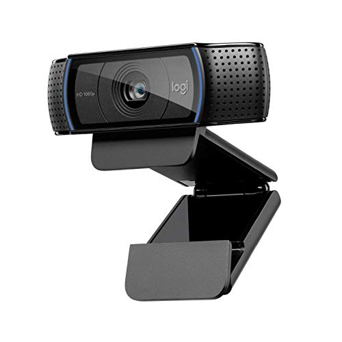 Logitech C920 HD Pro Webcam für Amazon, Full HD 1080p/30fps Video Calling,...