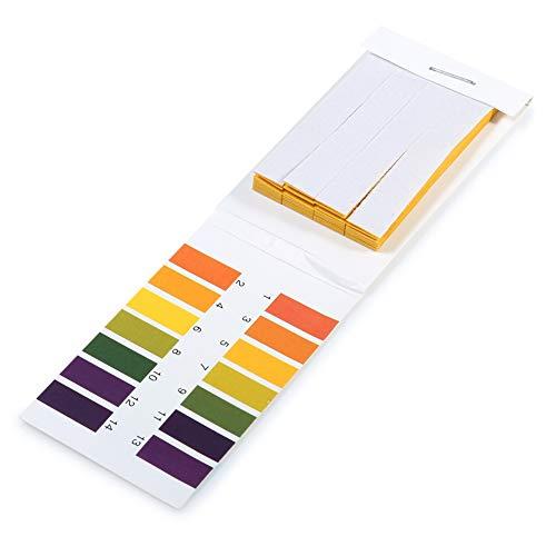 Hieefi 1pack (80pcs) Ph Teststreifen Ph Lackmuspapier Ph Test Papierstreifen 1...
