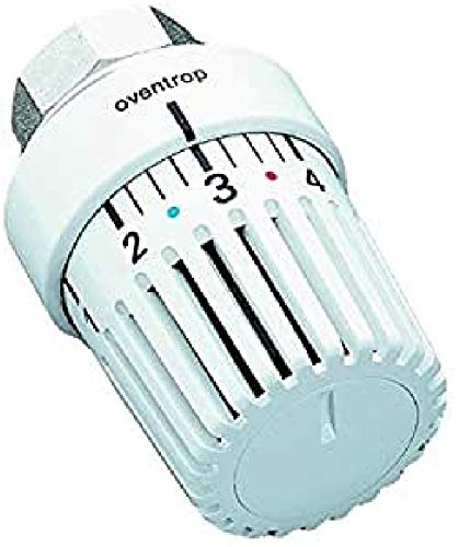 UniLH Oventrop Thermostat *1-5 Weiss mit Nullstellung 7-28 °C