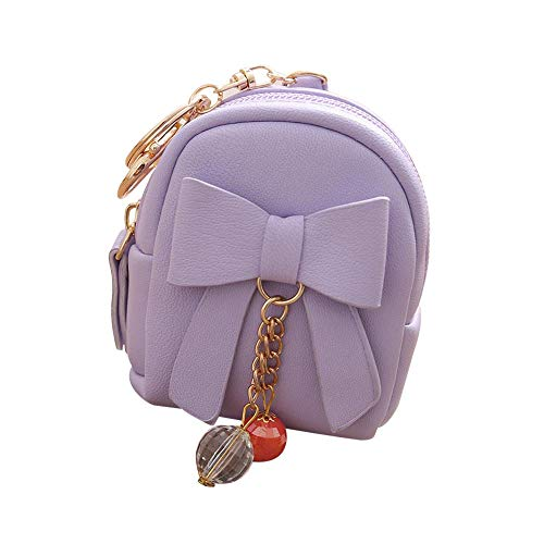 Btruely Taschen Frauen Bow Zipper Key Bag Kurze Brieftasche Coin Purse...