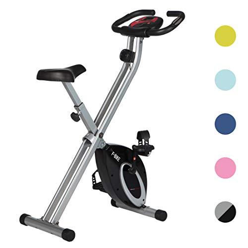 Ultrasport Heimtrainer F-Bike Advanced, LCD-Display, klappbarer Hometrainer,...