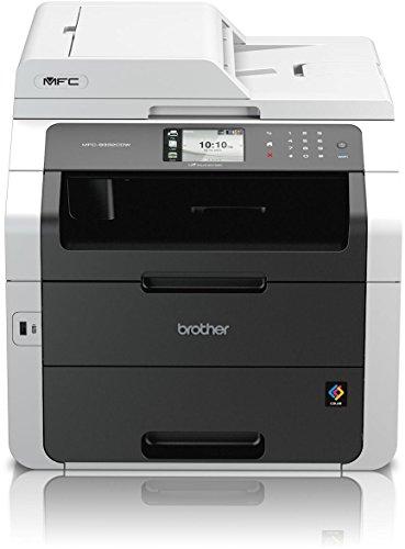 Brother MFC-9332CDW Kompaktes 4-in-1 Farb-Multifunktionsgerät (Drucken,...