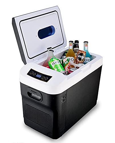 Z-DYQ Tragbarer Kühlschrank 28l Auto Home Auto Kühlschrank Mini-Kühlschränke...