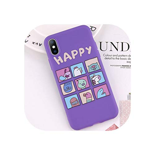 Wild-lOVE Schutzhülle für iPhone XS Max XR X 7 6 6S 8 Plus, Herzform,...