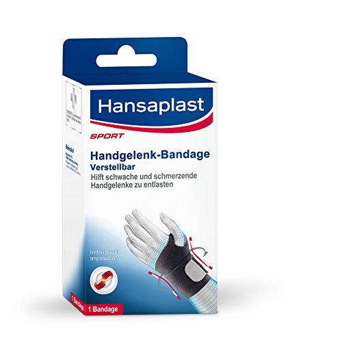 Hansaplast Handgelenk-Bandage, Handbandage für schwache oder schmerzende...