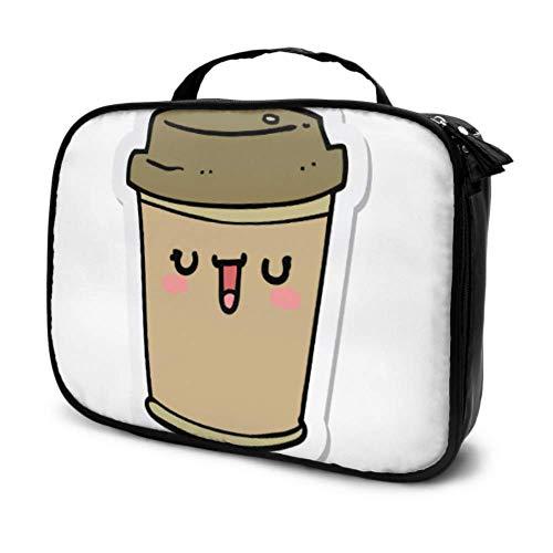 Defirent Shape Einfache Kaffeetasse Reise Kosmetiktasche Männer Kid Make-up...