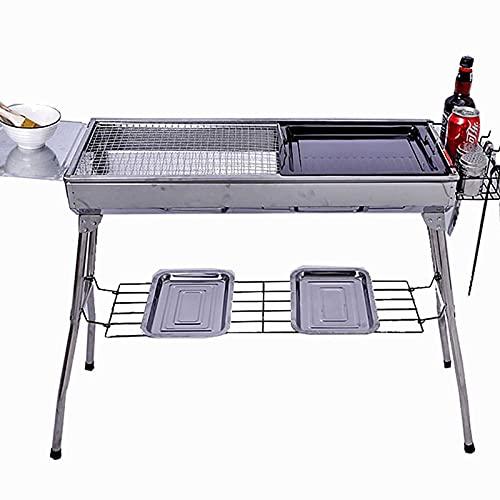 Tragbarer faltender Grillgitter Grill - Outdoor/Indoor Barbecue Kohlegrill -...