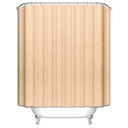 Aeici Duschvorhang 90X180CM Einfacher Stil Polyester Badvorhang Antischimmel...
