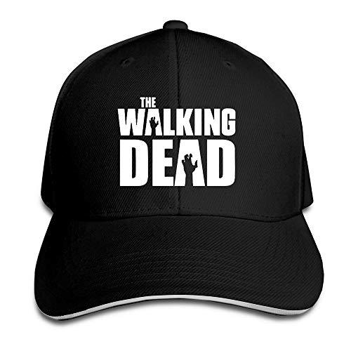 Youaini Eternal The Walking Dead Sandwich Peaked Baseball Cap Black