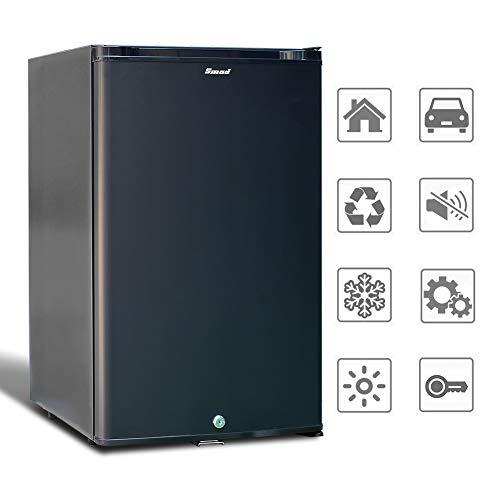 Smad Mini-Kühlschrank 12V und 220V Minibar Absorption Kühlschrank für Camping...