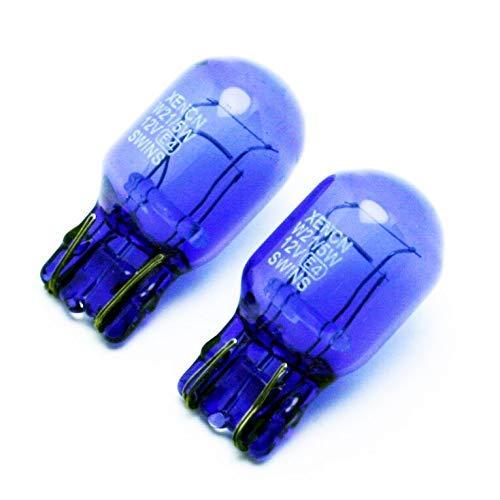 Xencn Ledpremium 2X Glühbirnen Halogen T20 W21/5W Super Brillanten Weiß 4200K...