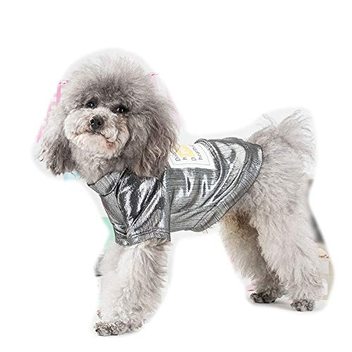 YABAISHI Hunde-Bekleidung Frühlings-Katze-Haustier-Hemd-Sommer-T-Shirt (Color :...