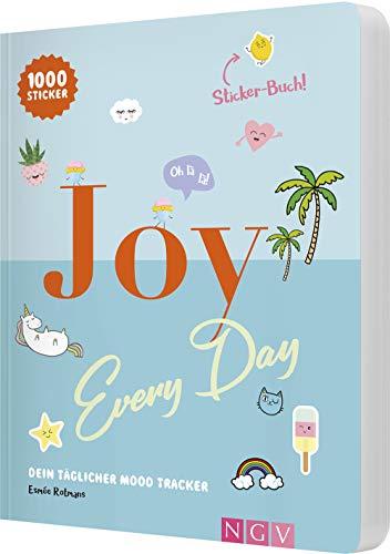 Joy every day: Dein täglicher Mood Tracker mit 1000 Mood-Stickern
