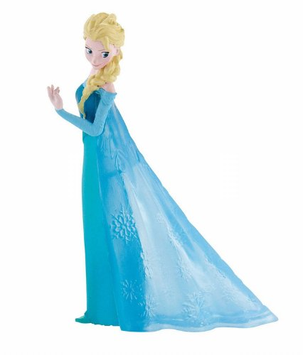 Bullyland 12961 - Spielfigur, Walt Disney Die Eiskönigin - Elsa, ca. 9,5 cm...