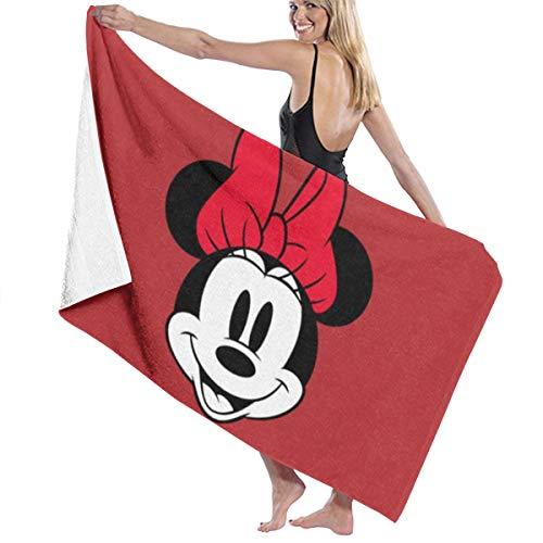 SanRe Minnie Maus, schnelltrocknend, sehr saugfähig, Mehrzweck-Badetücher,...