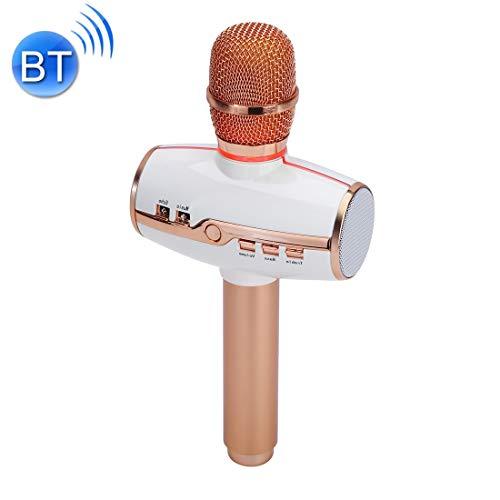 Mikrofon H9 Hohe Klangqualität Hand KTV Karaoke-Aufnahme Bunte RGB Neonlichter...