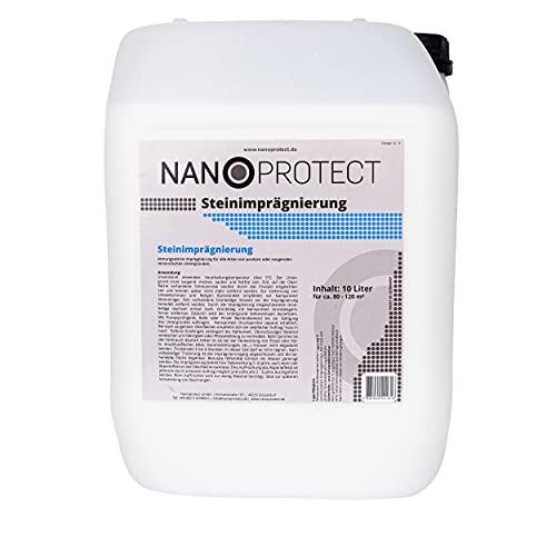 Nanoprotect Steinimprägnierung | Profi Qualität | Vorbeugend gegen Grünbelag...
