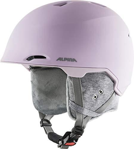 ALPINA Unisex - Erwachsene, MAROI Skihelm, light-rose matt, 57-61 cm