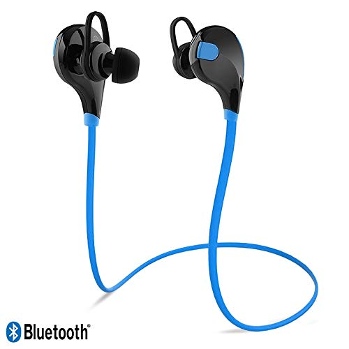 Karylax Bluetooth-Kopfhörer, Nackenbügel, Blau, Sport, für Altice S60 /...
