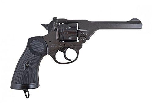 Denix Replik Webley MK 4 Revolver Waffe des Abenteurers Jones Kal. 38