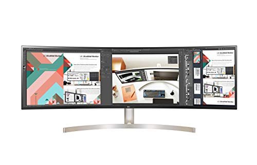 LG 49WL95C-WE 124,46 cm (49 Zoll) Curved QHD UltraWide Monitor (AH-IPS-Panel,...