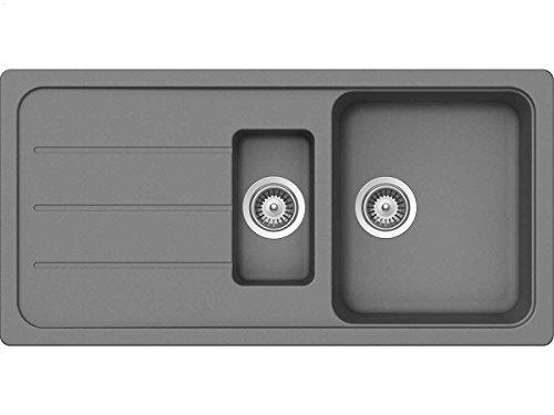 Schock MAND100XSARCA Manhattan D-100XS, Auflage in Roca Spüle, Küchenspüle,...