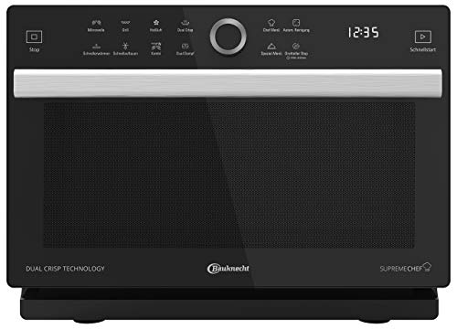 Bauknecht Supreme Chef MW 339 SB 5in1-Multifunktionsmikrowelle /1000 W/33 L...