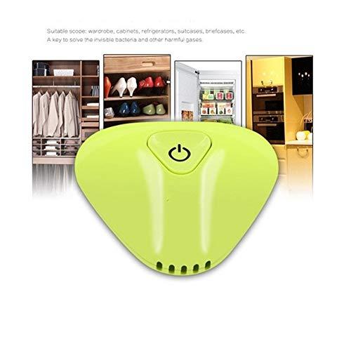 KIBILLL Tragbare Mini-Ozon-Luftreiniger Frische Deodorizer Kühlschrank for...