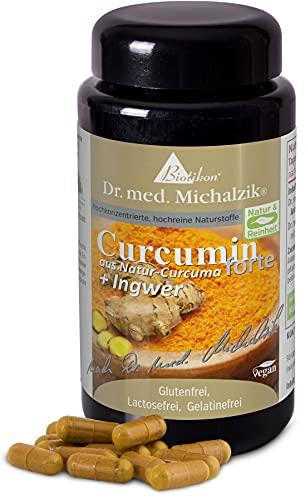 Curcumin Tumeric forte Premium nach Dr. med. Michalzik - 90 Kapseln - je Kapsel...