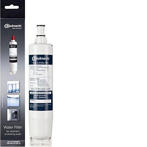 Bauknecht SBS103 Wasserfilterpatrone für Bauknecht Side-by-Side Kühlschrank, 6...