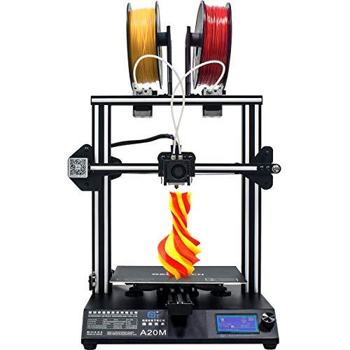 GEEETECH Neuer A20M 3D-Drucker mit Mischfarbendruck, integriertem Aufbau- und...