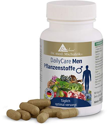 DailyCare Men Pflanzenstoffe, 90 Kapseln - ohne Zusatzstoffe - von Biotikon®