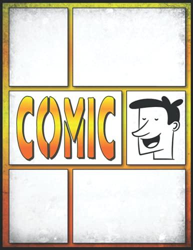 Comic Zeichnen Lernen Erwachsene: Ein großes Skizzenbuch mit 100 leeren...