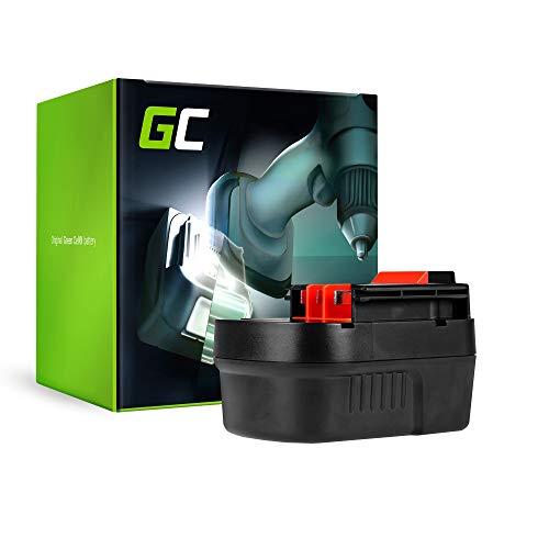 GC® (2Ah 12V Ni-MH Zellen) Akku für Black & Decker CP122K Werkzeug Ersatzakku