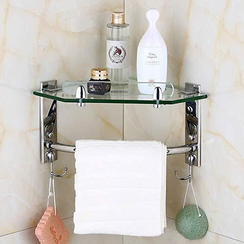 Badezimmerzubehör Aufbewahrungsregal Handtuchhalter Badezimmerregal...