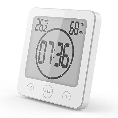 VORRINC Badezimmeruhr Digital Wecker Uhr Badezimmer Dusche Saugnapf Shower Clock...